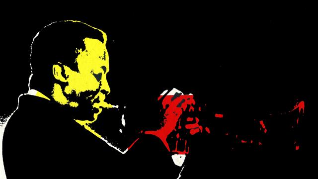 Miles Davis Siebdruck Serie schwarz