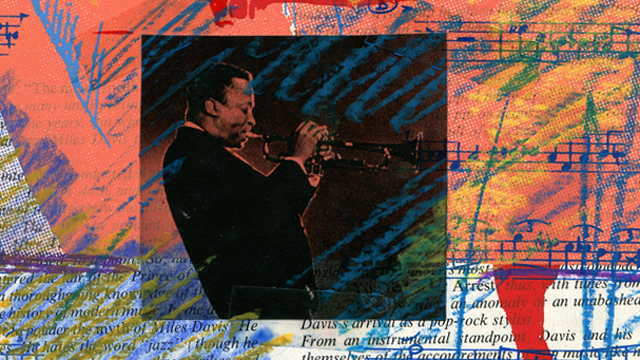 Miles Davis Siebdrucke Mischtechnik