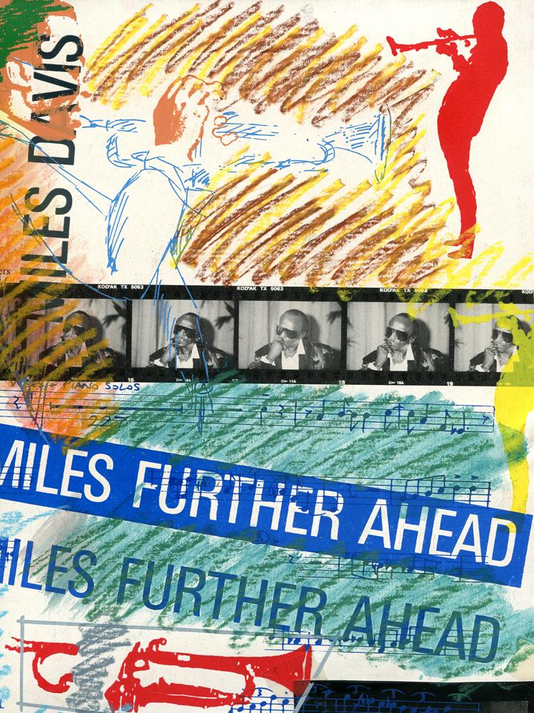 Miles Davis Siebdruck Mischtechnik