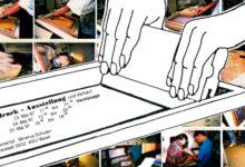 Siebdruck Projekt Schule